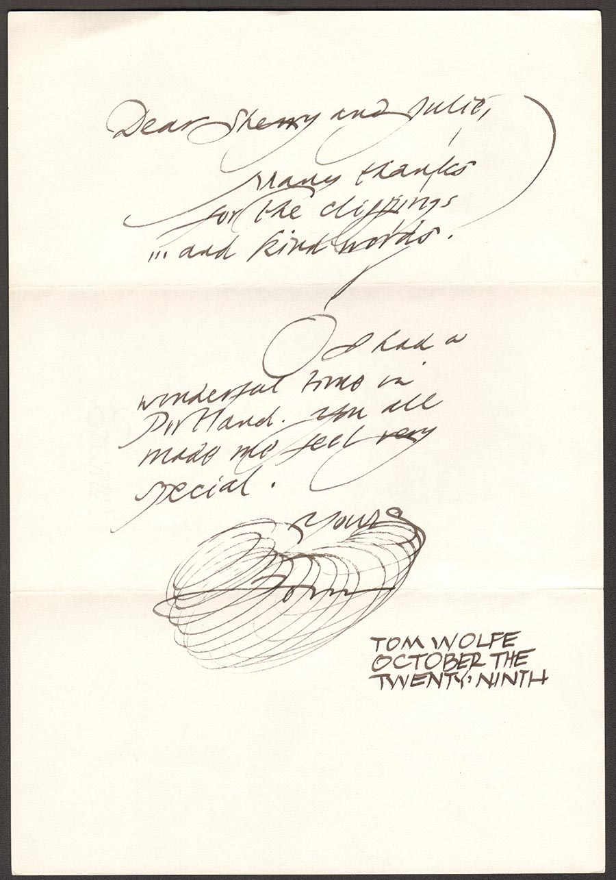 Letter-from-Tom-Wolfe-before-his-Portland-Arts-Lectures-event-in-1995