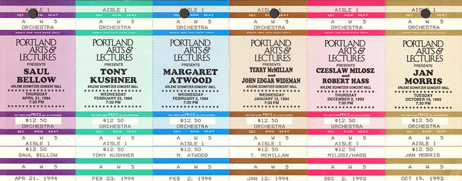 Portland-Arts-Lectures-ticket-stubs-from-our-1993-1994-season