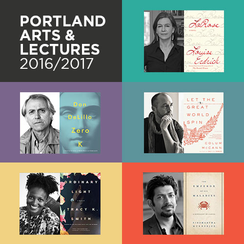 RESCHEDULED: Portland Arts & Lectures Presents Colum McCann