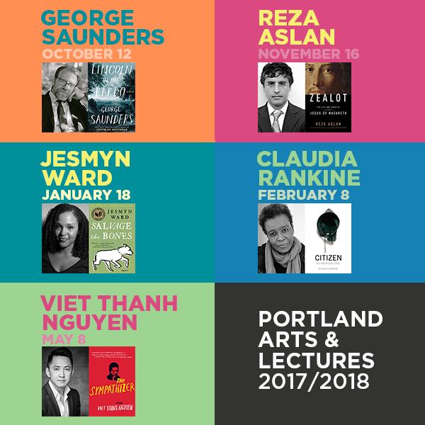 2017/2018 Portland Arts & Lectures