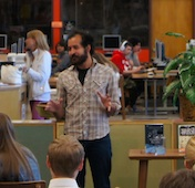 Anis Mojgani visits Wilson High School