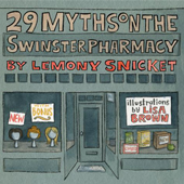 Lemony Snicket and Lisa Brown @Literary Arts on February 15