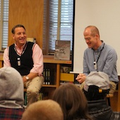 Chris Ware and Chip Kidd Visit Franklin High School