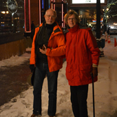 Poetry Fans Brave Snow for Stafford Centennial
