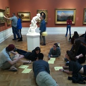 WITS Residency with Lincoln HS at Portland Art Museum