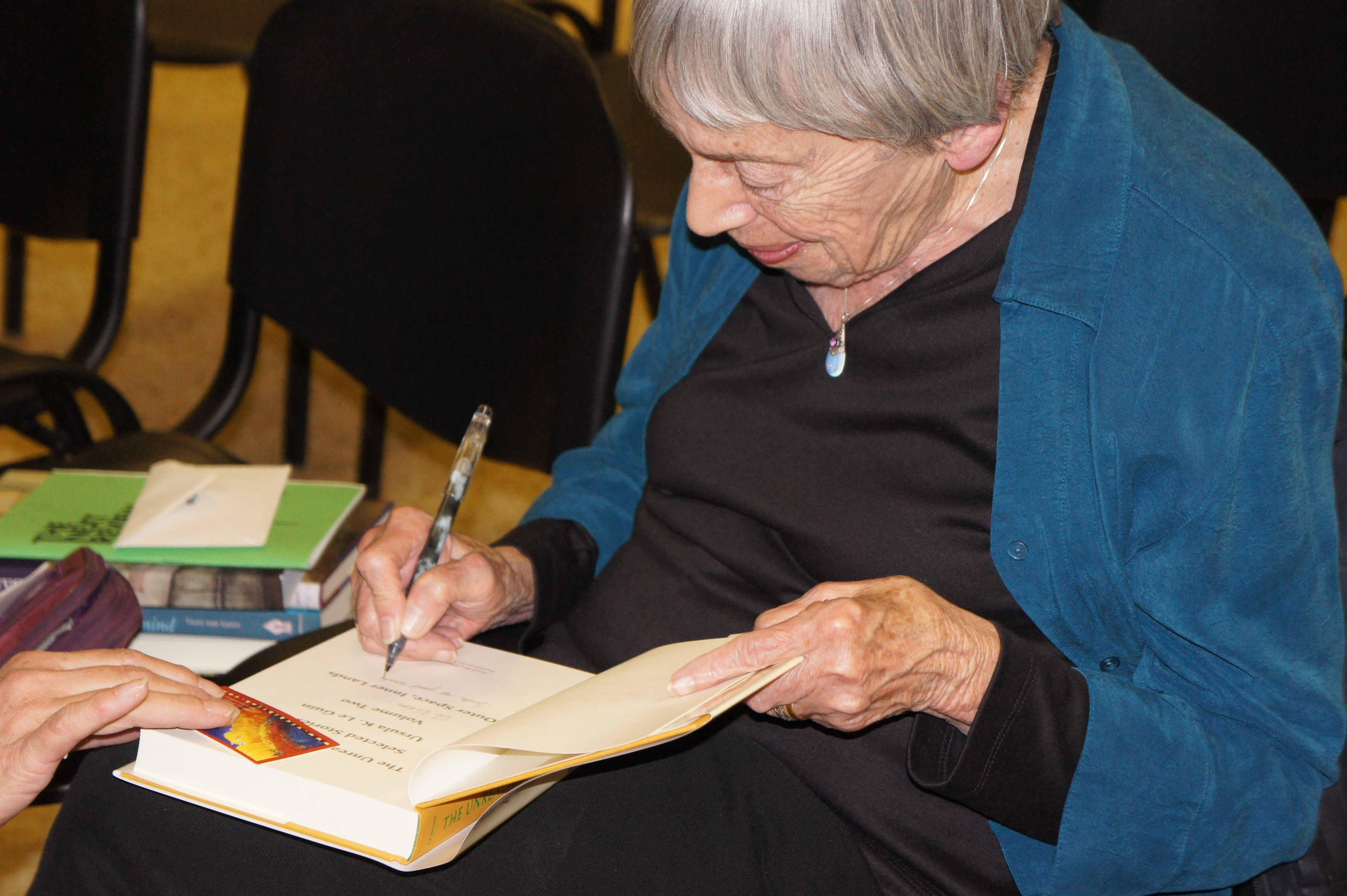 Ursula K. Le Guin Visits Dallas