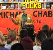Michael Chabon Visits Madison High School