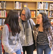 Ruth Ozeki visits Japanese immersion classes at Grant High School