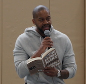 Everybody Reads author Mitchell S. Jackson's school visits