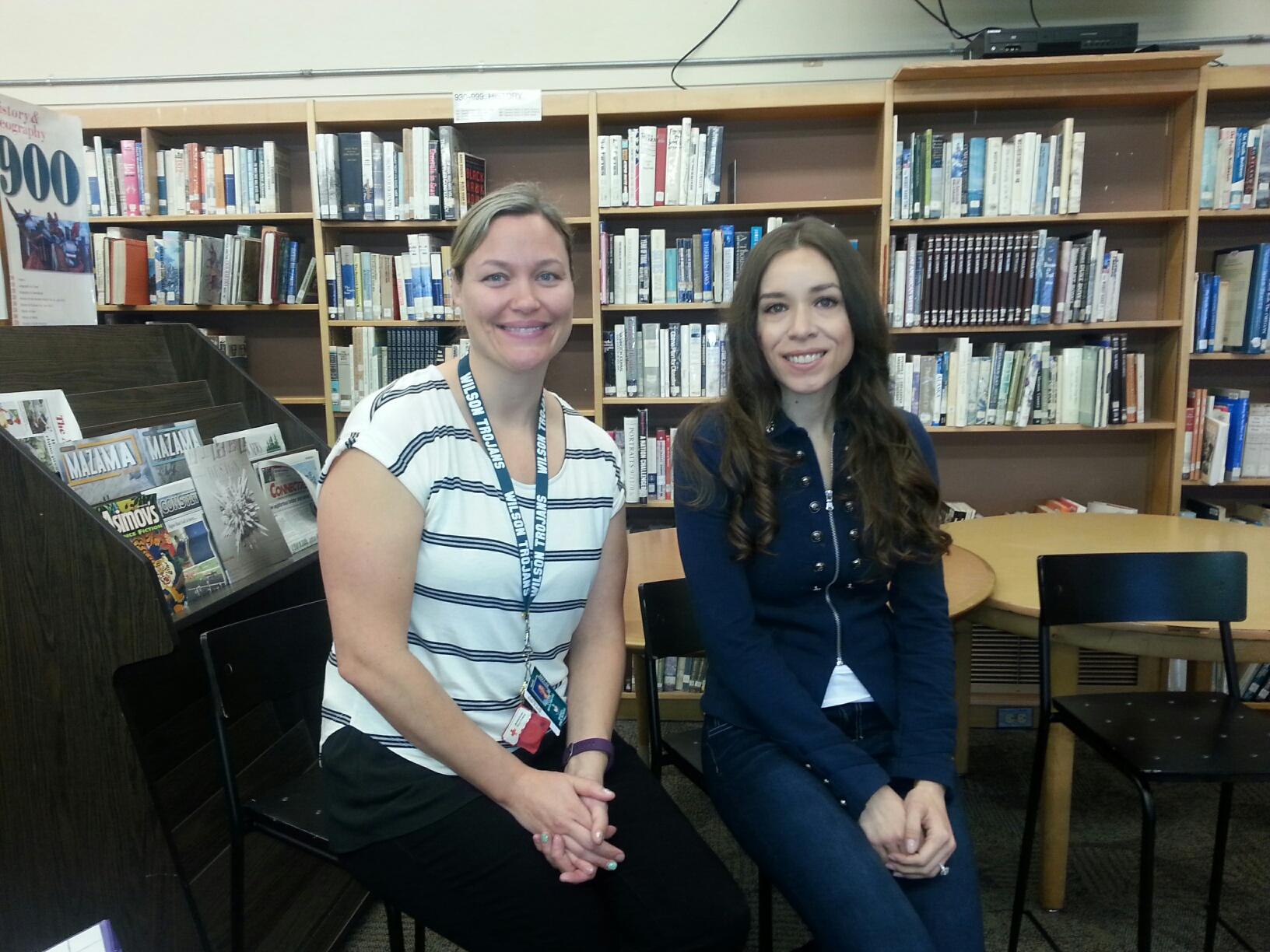 WITS Brings poet Jessica Tyner Mehta to Wilson High School