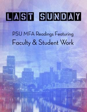Portland State University Calendar.Psu Mfa Reading Literary Arts