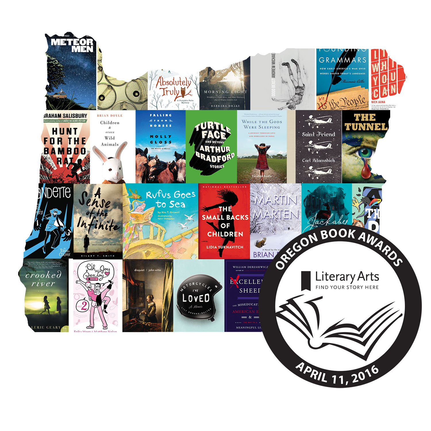 2016 Oregon Book Awards finalists: Children's Literature
