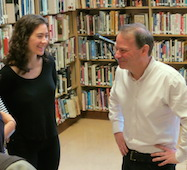 Adam Gopnik visits Grant High School