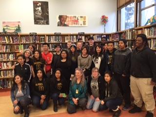 Cristina Henriquez Visits Roosevelt High School
