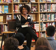 Poet Rita Dove visits Roosevelt High School
