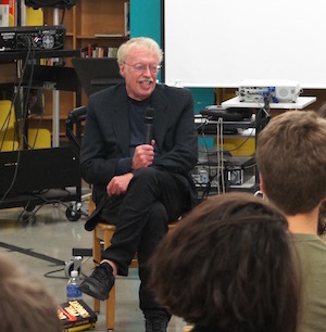Phil Knight Visits Cleveland High School