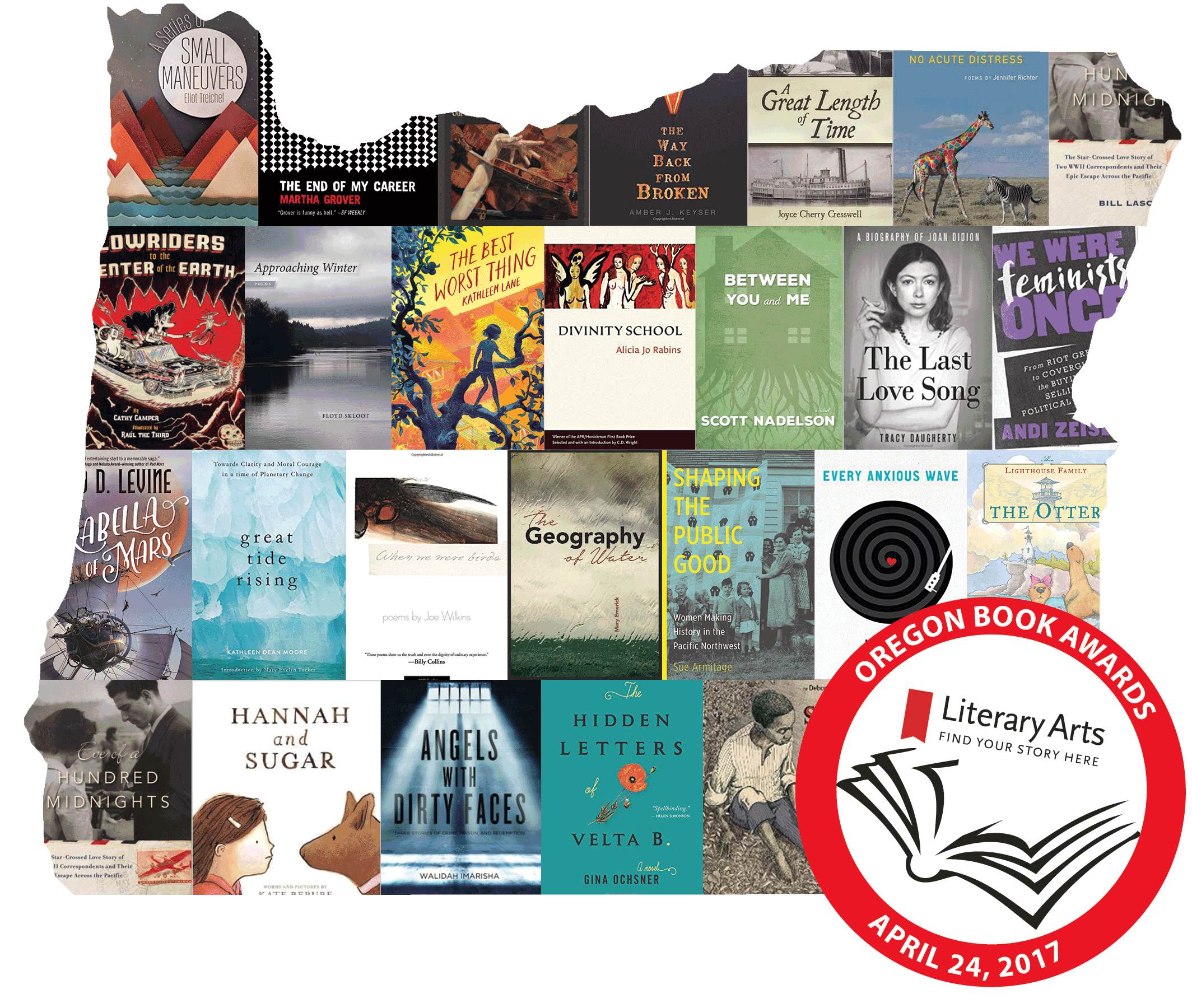 2017 Oregon Book Awards Finalists: Children's Literature
