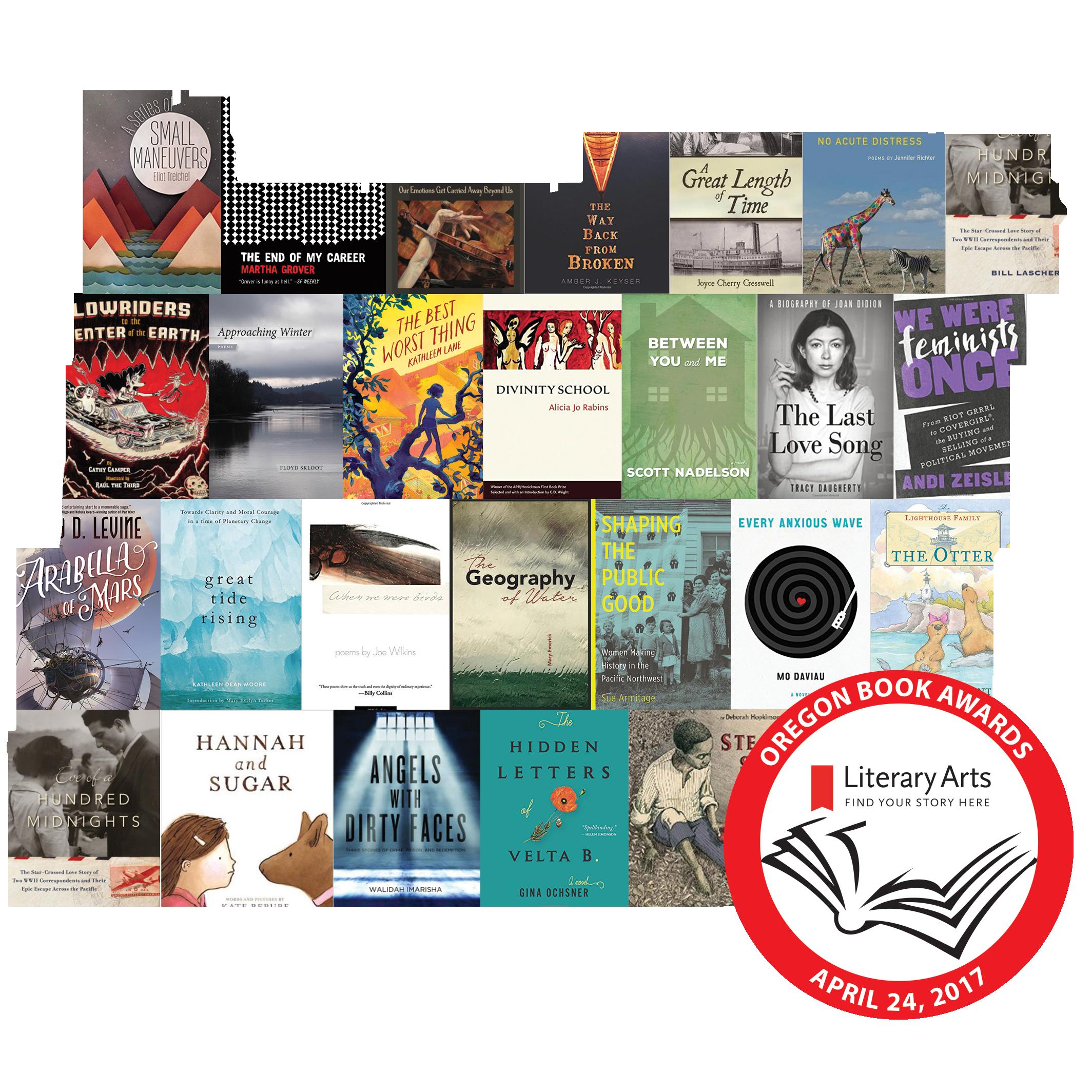 Oregon Book Awards Finalists Reading