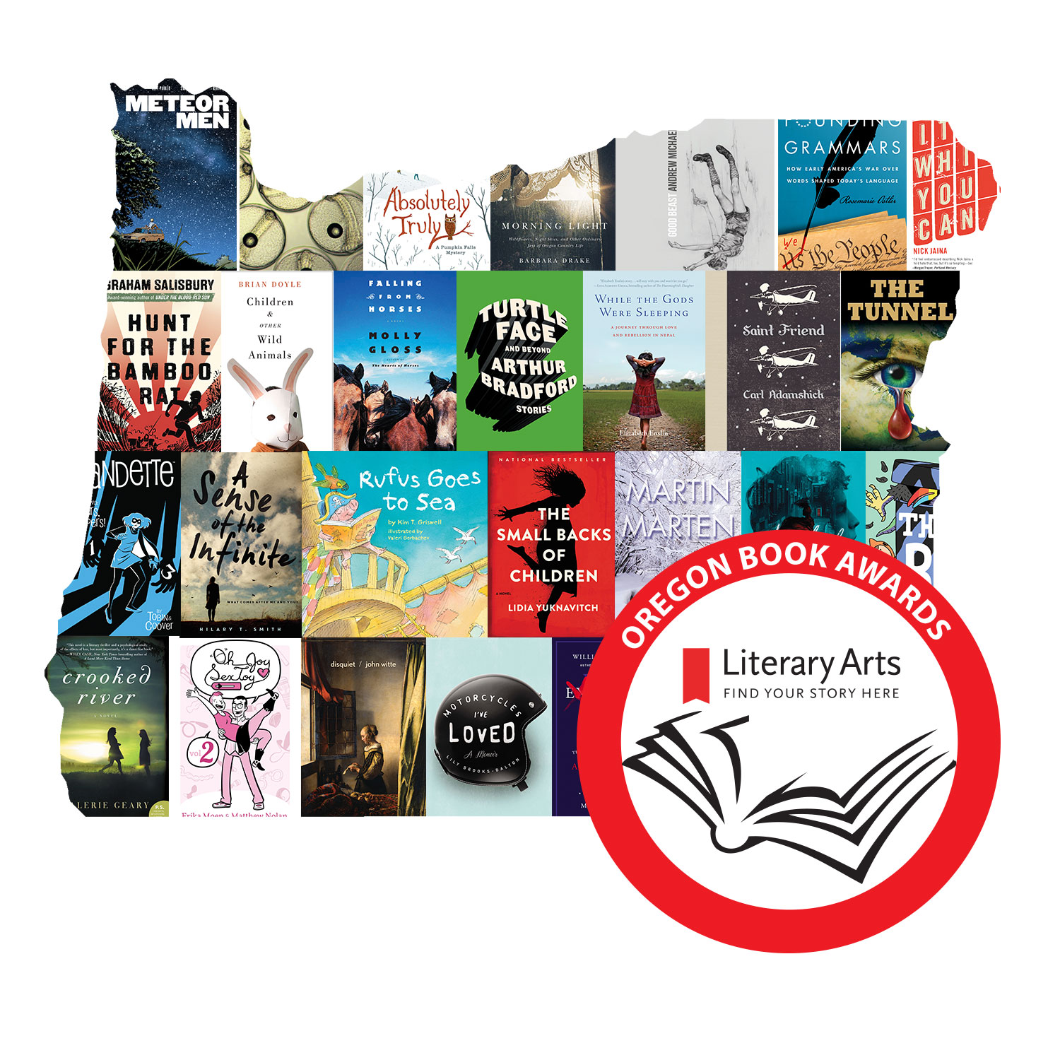 Books Submitted to the 2018 Oregon Book Awards