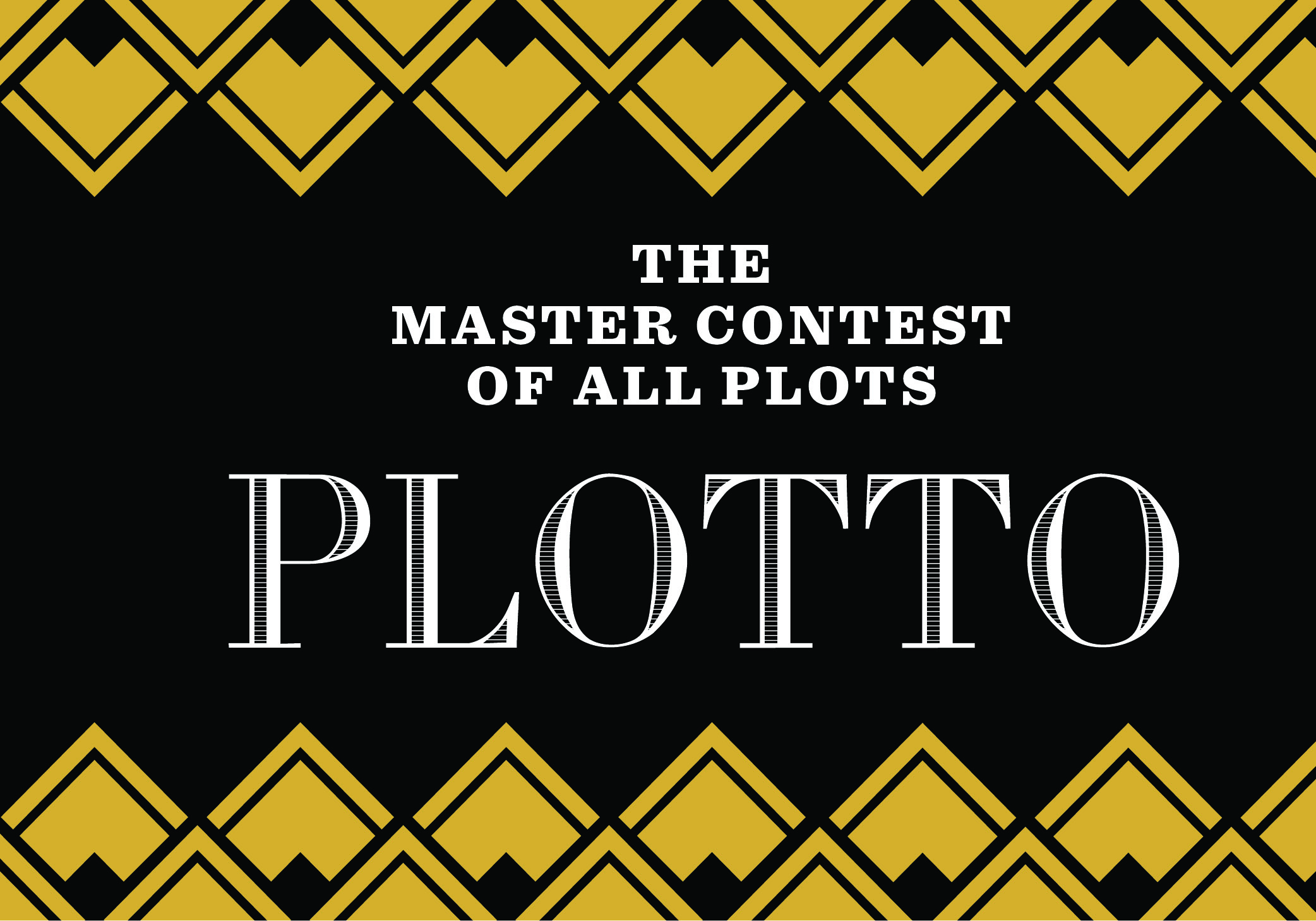 Plotto contest sponsored by Tin House and OPB: Starts October 19!