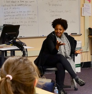 Tracy K. Smith visits Alliance High School at Meek