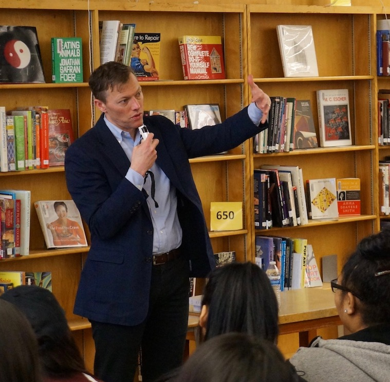 Matthew Desmond Visits Gresham and Franklin High Schools