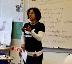 WITS in Action! Turiya Autry at Grant High School