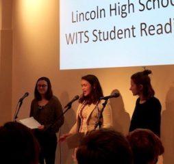Lincoln Students WITS Reading @LiteraryArts