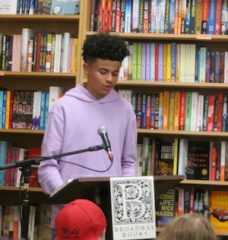 Grant High School WITS reading at Broadway Books