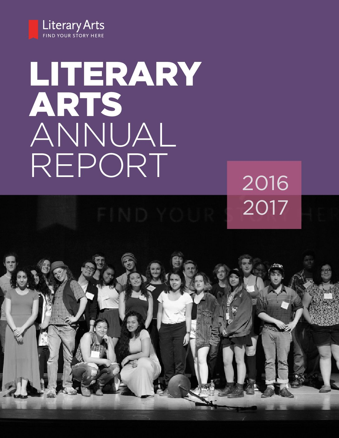 Literary Arts Annual Report 2016/2017