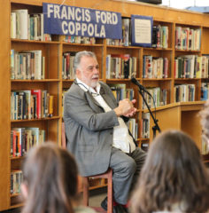 Francis Ford Coppola Visits Grant High School