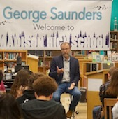 George Saunders at Madison High School