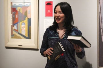 Pop-up Readings at Wordstock: The Pairing of Painting and Prose