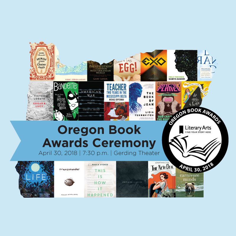 Oregon Book Awards Ceremony 2018
