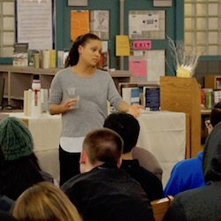 Jesmyn Ward Visits Benson High School