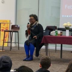 Claudia Rankine visits Franklin High School