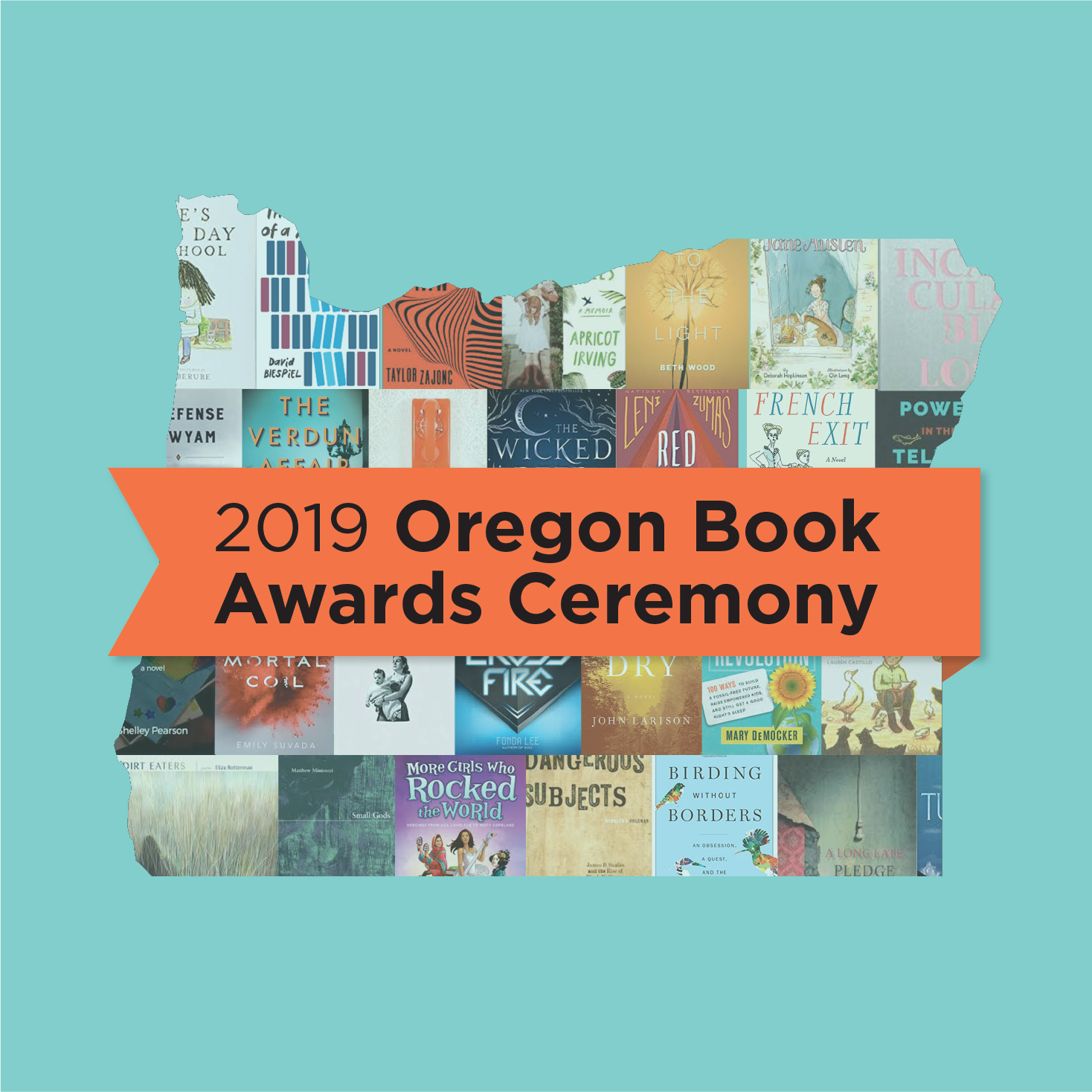 2019 Oregon Book Awards Ceremony
