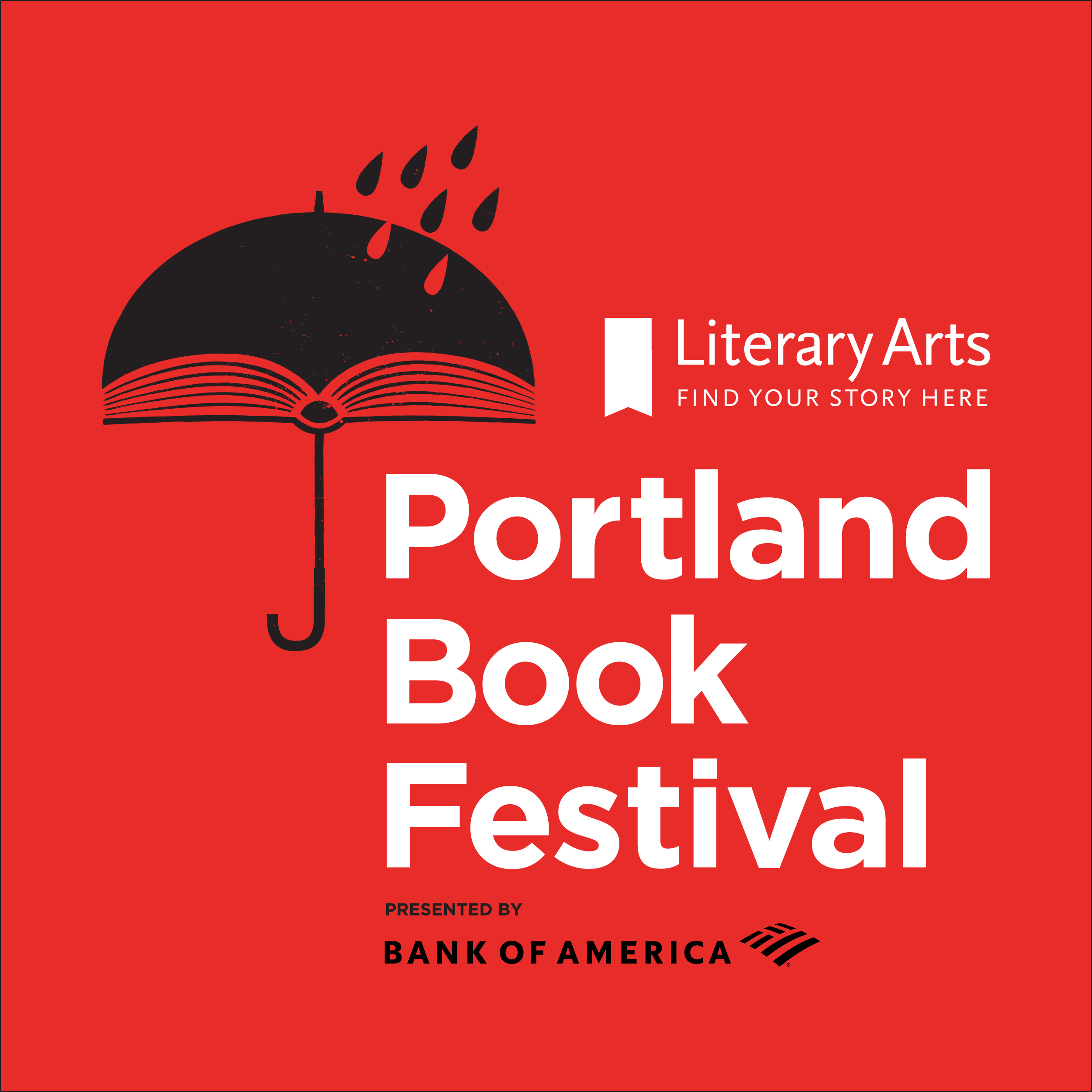 Bank of America returns as the Title Sponsor for the Portland Book Festival in 2019