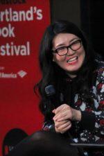 Jenny Han at the Portland Book Festival