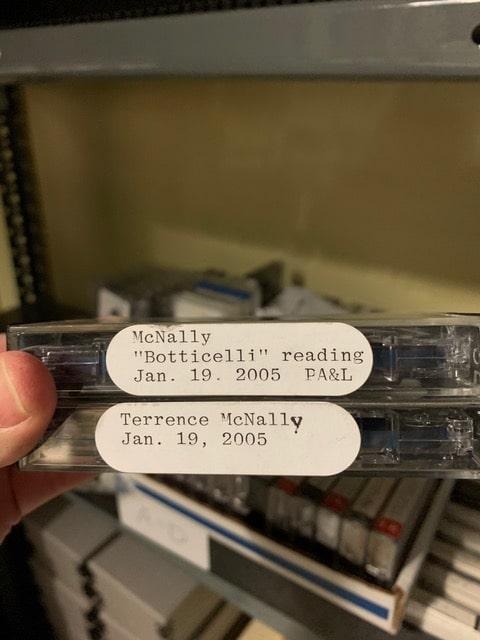 Vailey Oehlke finds the McNally cassette recordings inside the Multnomah County Library