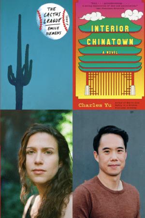 Emily Nemens and Charles Yu